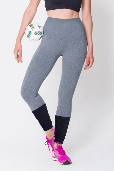 Grey High Rise Legging