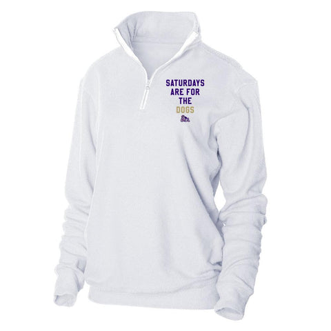 Tops - Women's Trendy White Official NCAA James Madison Dukes