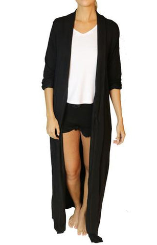 Dresses - Women's Trendy Black Pajama Set