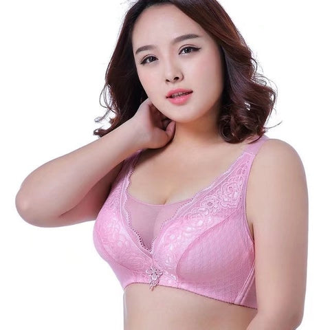 Plus Size Lingerie - Women's Trendy Plus Size Adjustable Bra Lingerie Underwear Cup C D Dd Bras