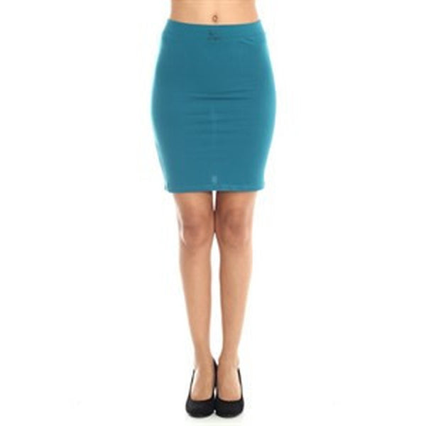 Pencil Skirts - Women's Trendy Black Pencil Skirt