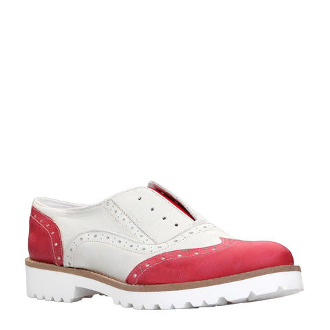 Ana Lublin Red Flat Shoes