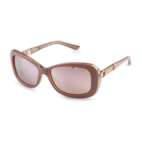 Sunglasses - Women's Trendy Guess Pink Uv3 Sunglass