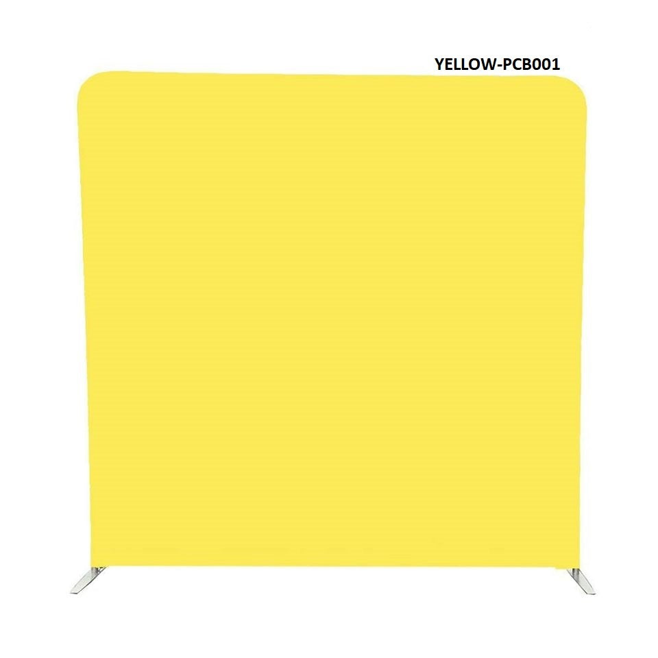 Double Sided Pillow Cover Backdrop With Stand - Solid Colors & Design