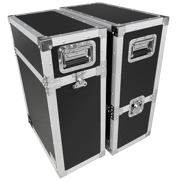 T12 LED Travel Road Cases (Sets of 2)