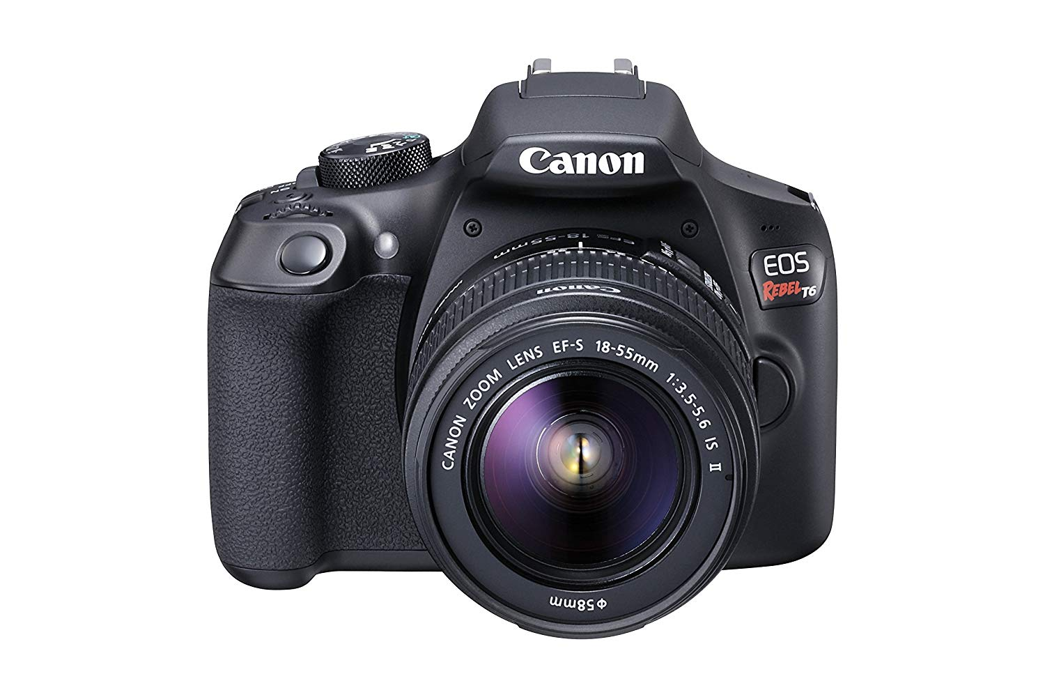 Canon T6 Digital SLR Camera Kit with EF-S 18-55mm