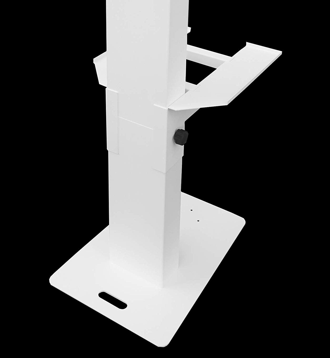 White T- Series Printer Shelf for Charmer / Glamify / T12 LED Photo Booth Shell