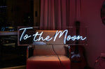 To The Moon Neon