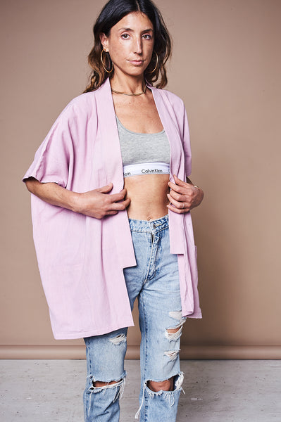 Cloud Jacket - Cotton Dusty Rose