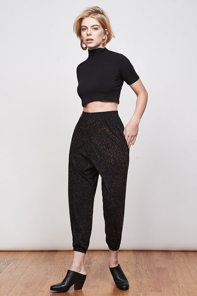 Gina Crop - Black