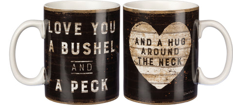 Mug - Love You A Bushel And A Peck