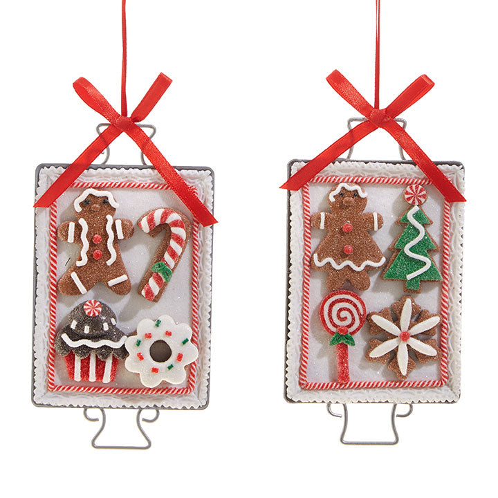 COOKIE SHEET ORNAMENT (2 styles)