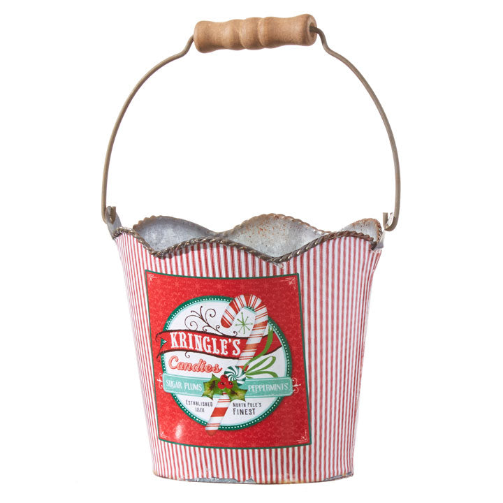 KRINGLE'S CANDIES BUCKET