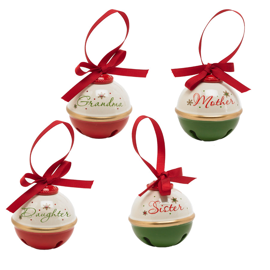 3 Inch  Bell Ornaments
