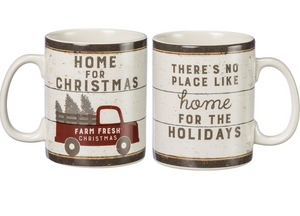 Home For Christmas Mug