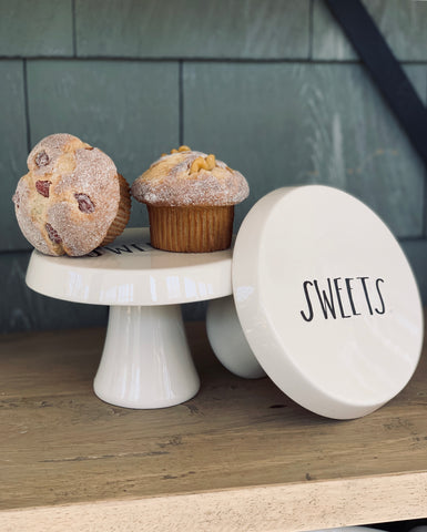 Rae Dunn Sweets Cake Stand