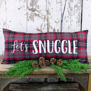 Let's Snuggle Pillow