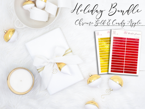 Holiday Chrome Bundle - Chrome Gold & Candy Apple