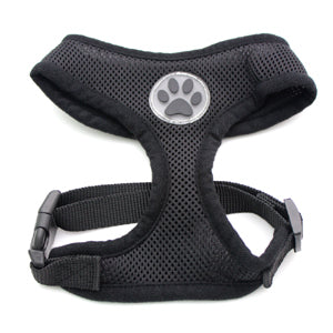 Dog Cat Control Harness Pet puppy harness Soft Paw Rubber Mesh Walk Collar 6 color 5 size
