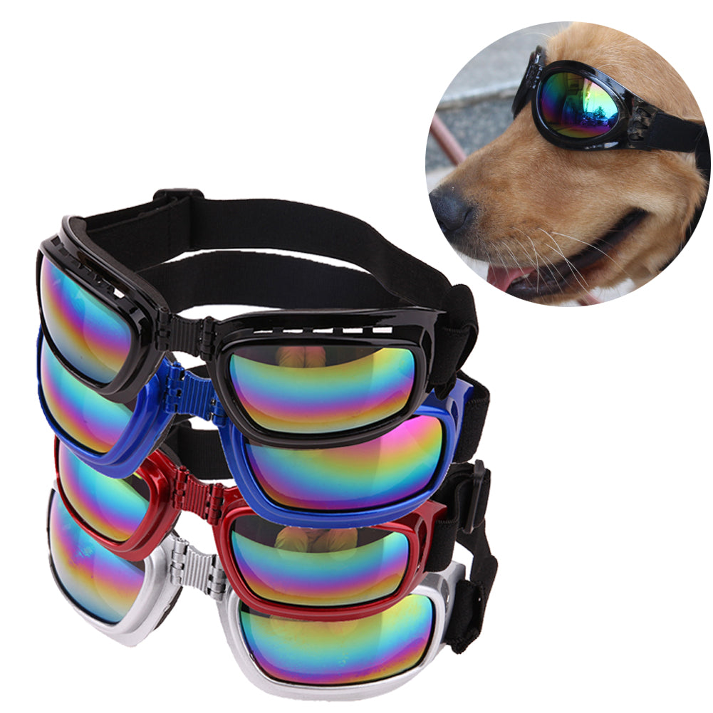 Cool Fashion Large Dog Sunglasses Multi-Color Windproof  Pet Eye Wear Protection Puppy Goggles Medium Large Dog Accessories
