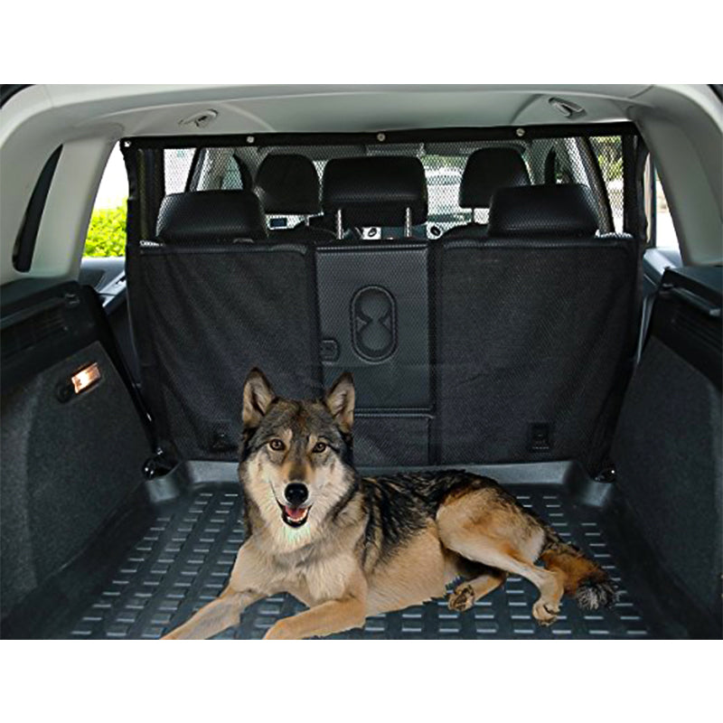 Breathable Pet Dog Car Barrier Anti-collision Mesh Carries Supplies Pet Auto Fence Isolation Network Safety Protective Accessary