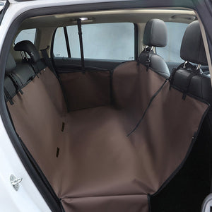 Dog Seat Cover Car for Pets Protection Hammock Waterproof Nonslip Backseat Dog Cover with Side Flaps for Car SUV Truck