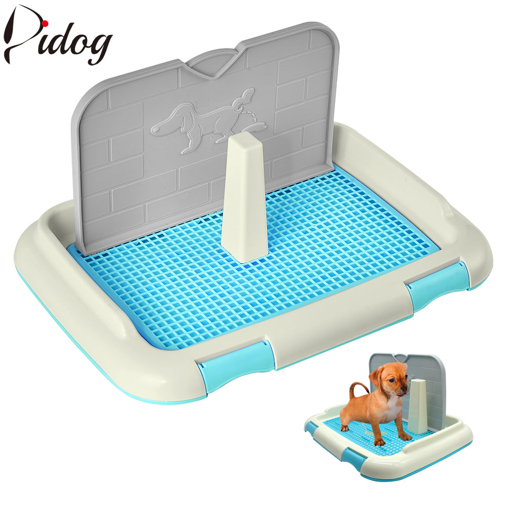 Reusable Dog Potty Cat Puppy Training Toilet Pets Pad Holder Mesh Cat Lattice Tray Pet Accessories Small Medium Dogs Supplies