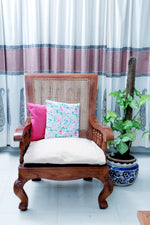 SOLID PINK CUSHION COVER