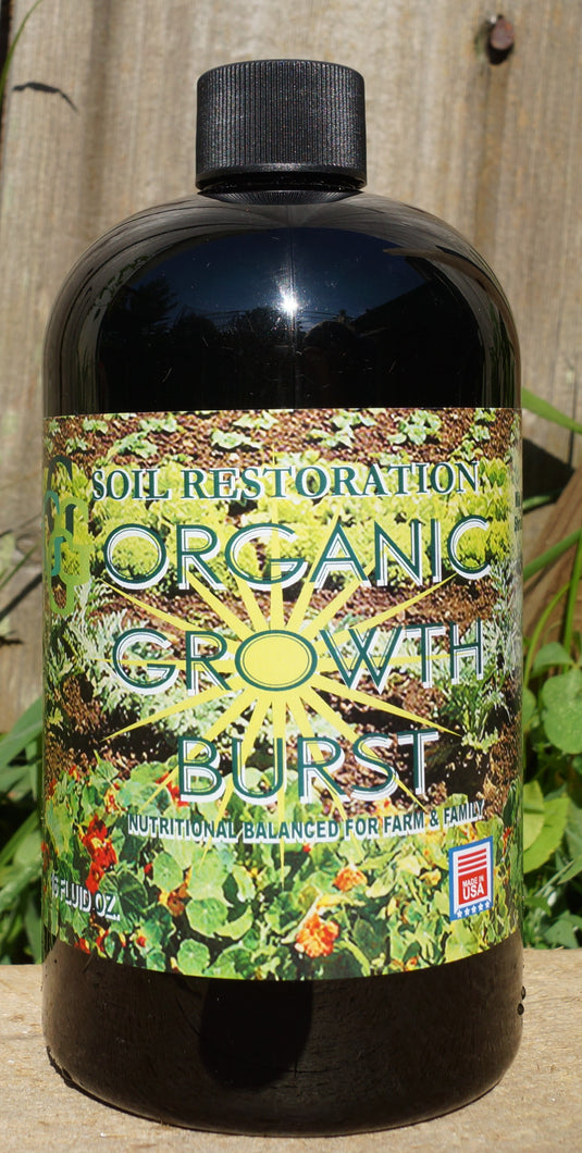 Organic Growth Burst Bottle (16oz)