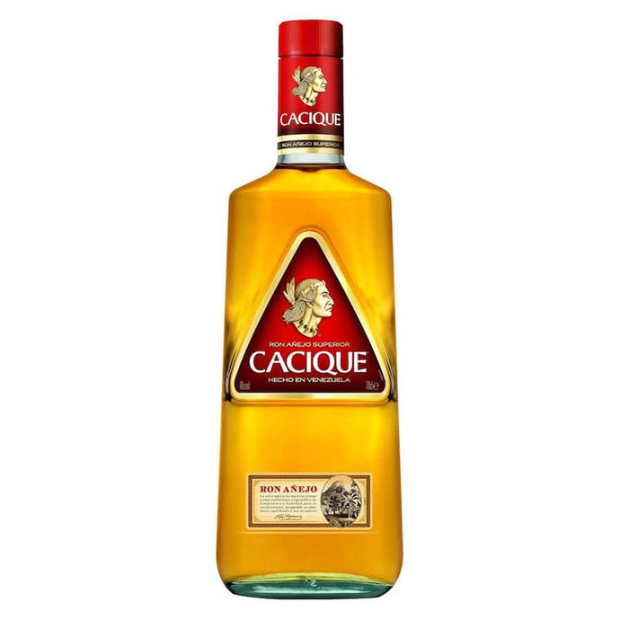 Ron Añejo Cacique Botella 70 cl.