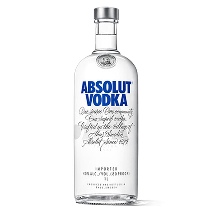 Vodka Absolut Botella 1L