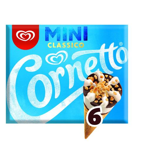 Cornetto Mini Clásico (Pack x6)