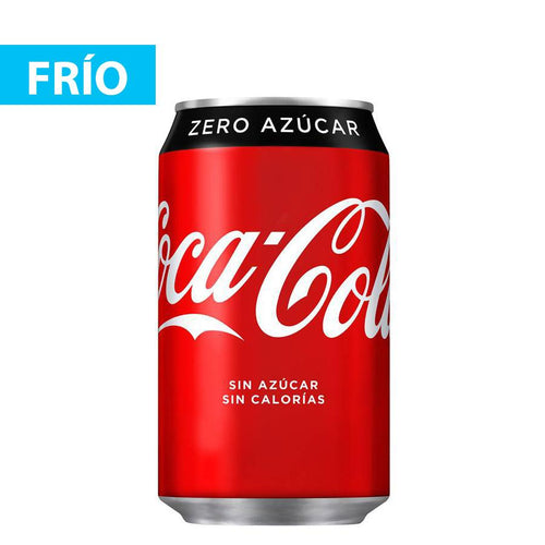 Refresco Coca Cola Zero Lata 33 cl.