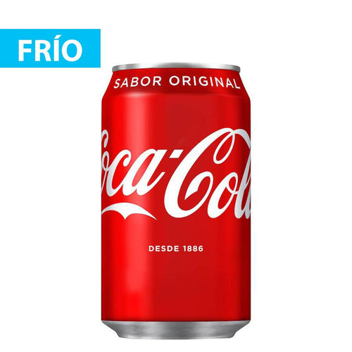 Refresco Coca cola Lata 33 cl.