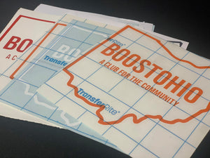 Old BoostOhio Stickers BoostedVinyl BoostedVinyl Custom stickers vinyl apparel shirts hoodies jackets and clothing