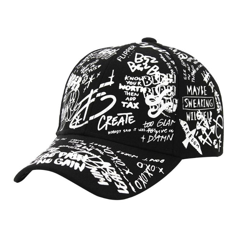 Graffiti Baseball Hat BoostedVinyl BoostedVinyl Custom stickers vinyl apparel shirts hoodies jackets and clothing