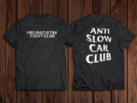 Anti slow car club shirt BoostedVinyl BoostedVinyl Custom stickers vinyl apparel shirts hoodies jackets and clothing