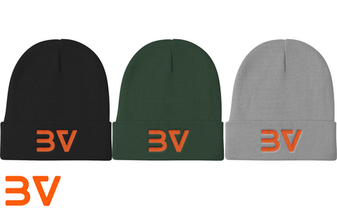 BoostedVinyl Knit Beanie (6 Colors) BoostedVinyl BoostedVinyl Custom stickers vinyl apparel shirts hoodies jackets and clothing
