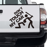 Dont Touch My Car Sticker BoostedVinyl BoostedVinyl Custom stickers vinyl apparel shirts hoodies jackets and clothing
