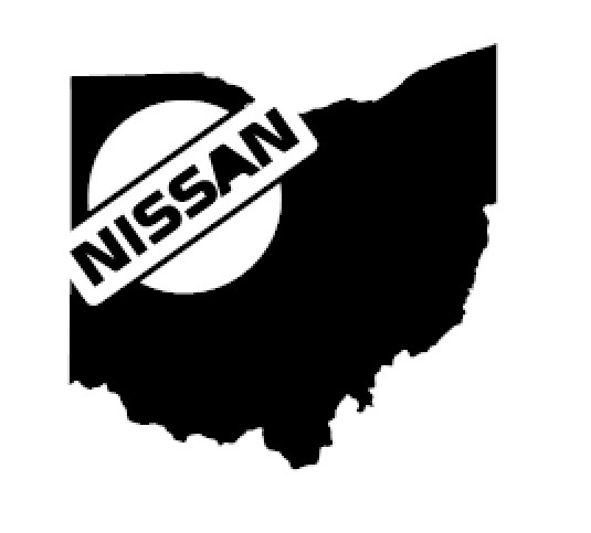 Nissan Ohio Sticker BoostedVinyl BoostedVinyl Custom stickers vinyl apparel shirts hoodies jackets and clothing