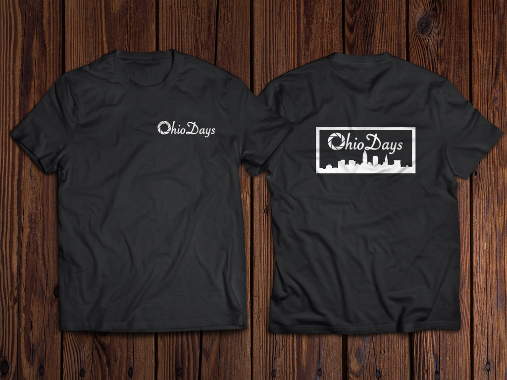 OhioDays Photography T-Shirt BoostedVinyl BoostedVinyl Custom stickers vinyl apparel shirts hoodies jackets and clothing