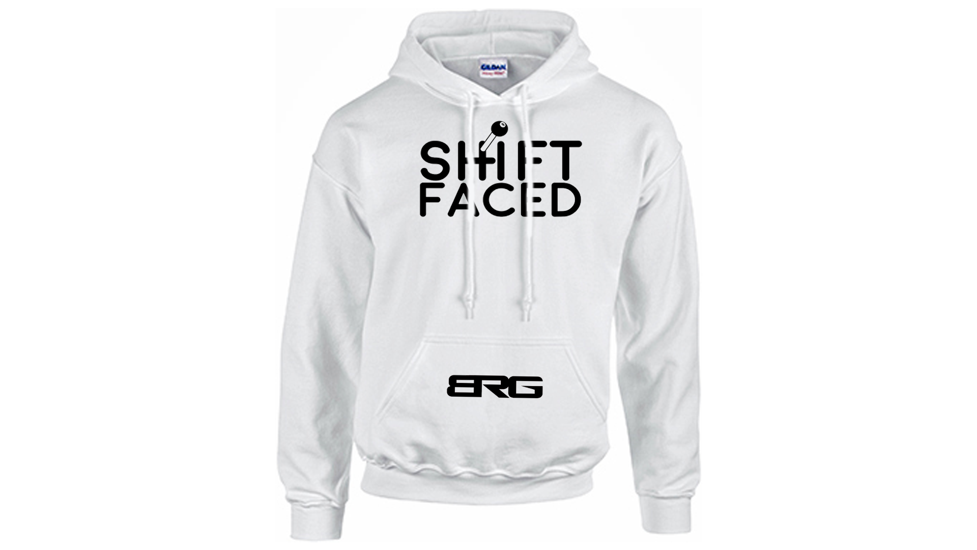 Shift Faced Front and Center Hoodie BoostedVinyl BoostedVinyl Custom stickers vinyl apparel shirts hoodies jackets and clothing