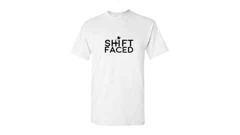 Shift Faced T-Shirt BoostedVinyl BoostedVinyl Custom stickers vinyl apparel shirts hoodies jackets and clothing