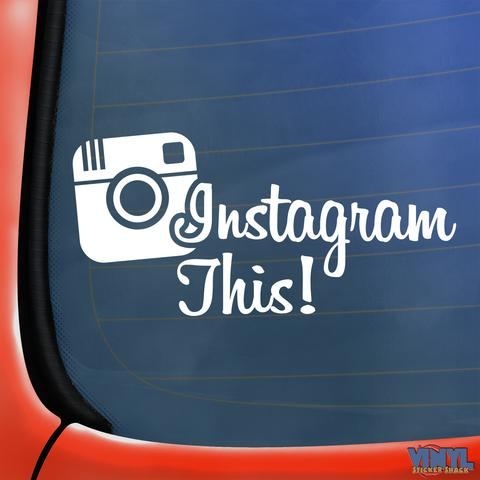 Personal Instagram Sticker BoostedVinyl BoostedVinyl Custom stickers vinyl apparel shirts hoodies jackets and clothing