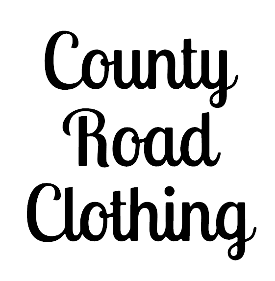 County Road Clothing Sticker 2 BoostedVinyl BoostedVinyl Custom stickers vinyl apparel shirts hoodies jackets and clothing