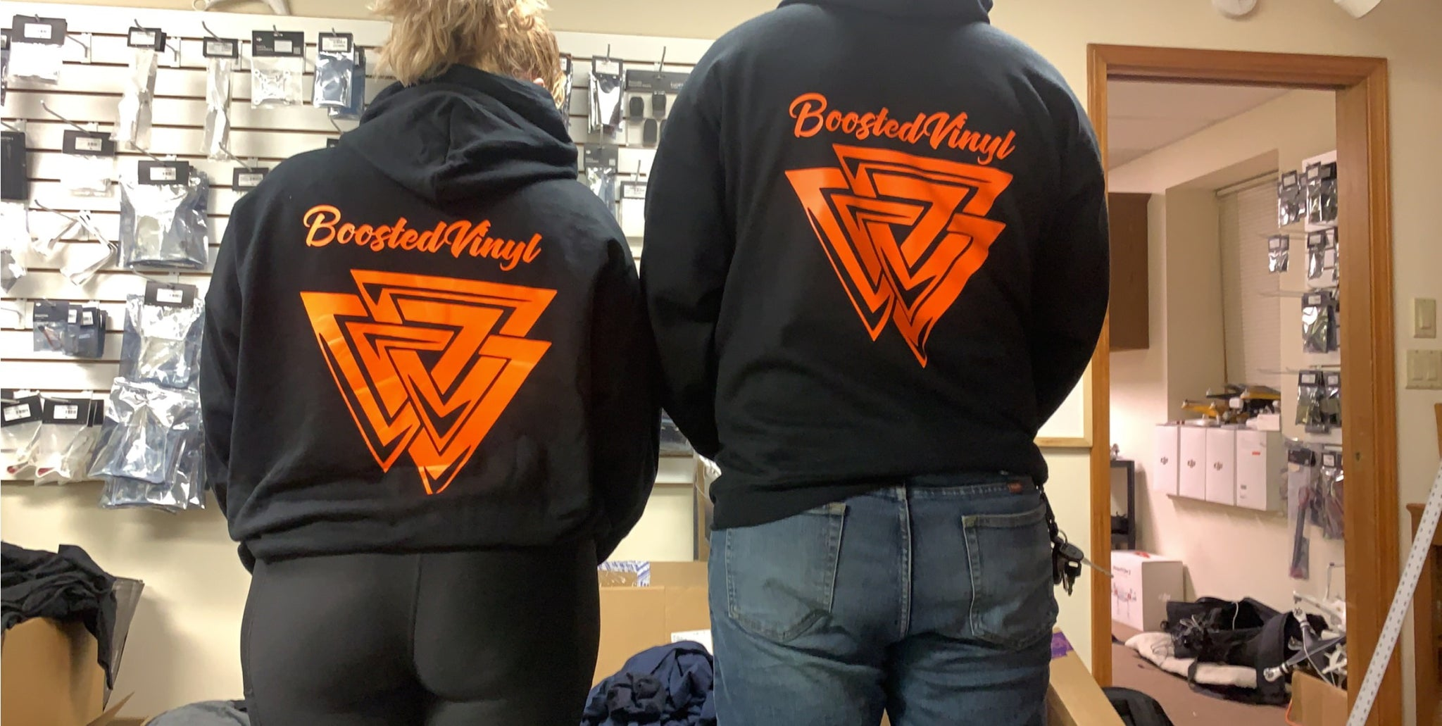 BoostedVinyl Hoodies BoostedVinyl BoostedVinyl Custom stickers vinyl apparel shirts hoodies jackets and clothing
