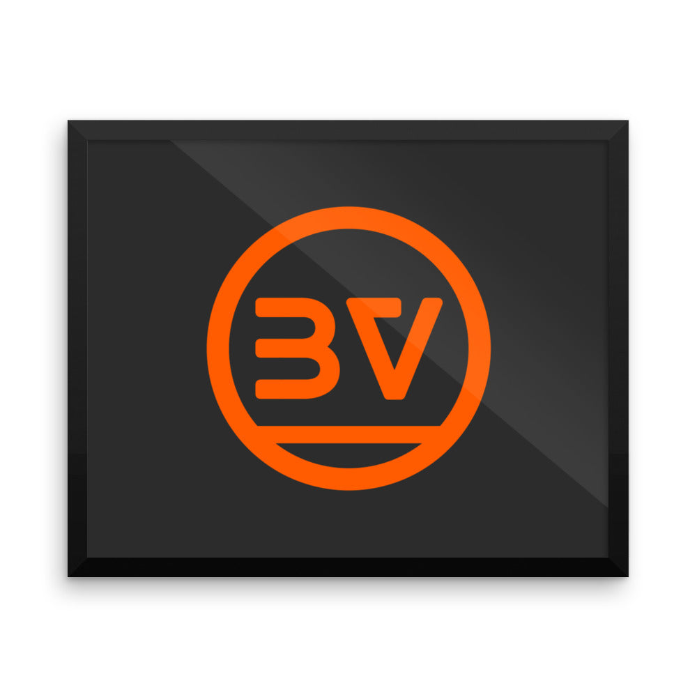 V1 BoostedVinyl Framed Poster BoostedVinyl BoostedVinyl Custom stickers vinyl apparel shirts hoodies jackets and clothing