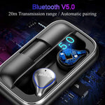 Bluetooth 5.0 True Wireless Bluetooth Headset Wireless Mini Sport Running Earphones