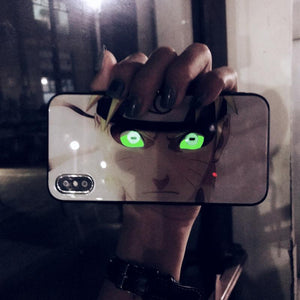 Tempered Glass Luminous Phone Case for iPhone X/XS XR XS Max 6/6s 6 Plus/6s Plus 7/8 7 Plus/8 Plus