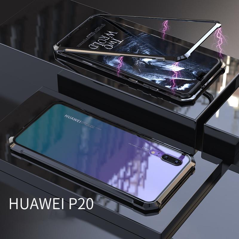 New Upgraded Magnetic Adorption Phone Case For Huawei P20 P20 Pro